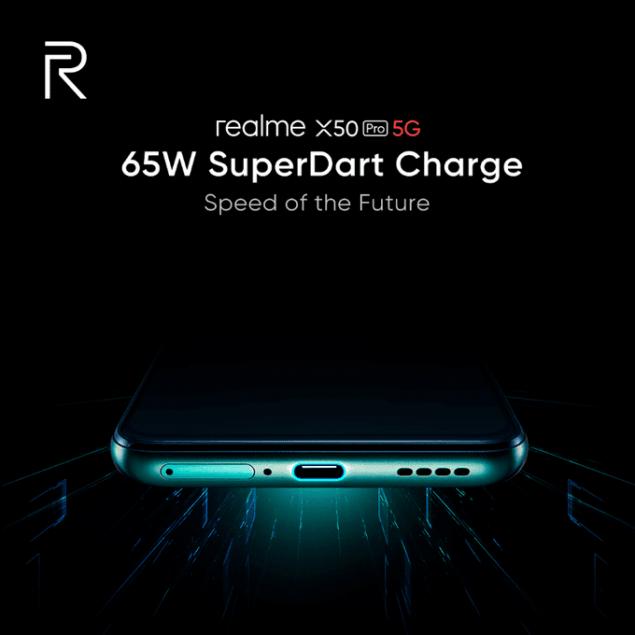 realme x50 pro 5g 65 w ricarica rapida display 90 hz