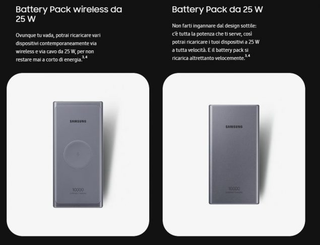 samsung battery pack 25 wireless