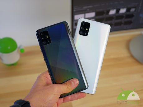 Samsung galaxy a 51 a71
