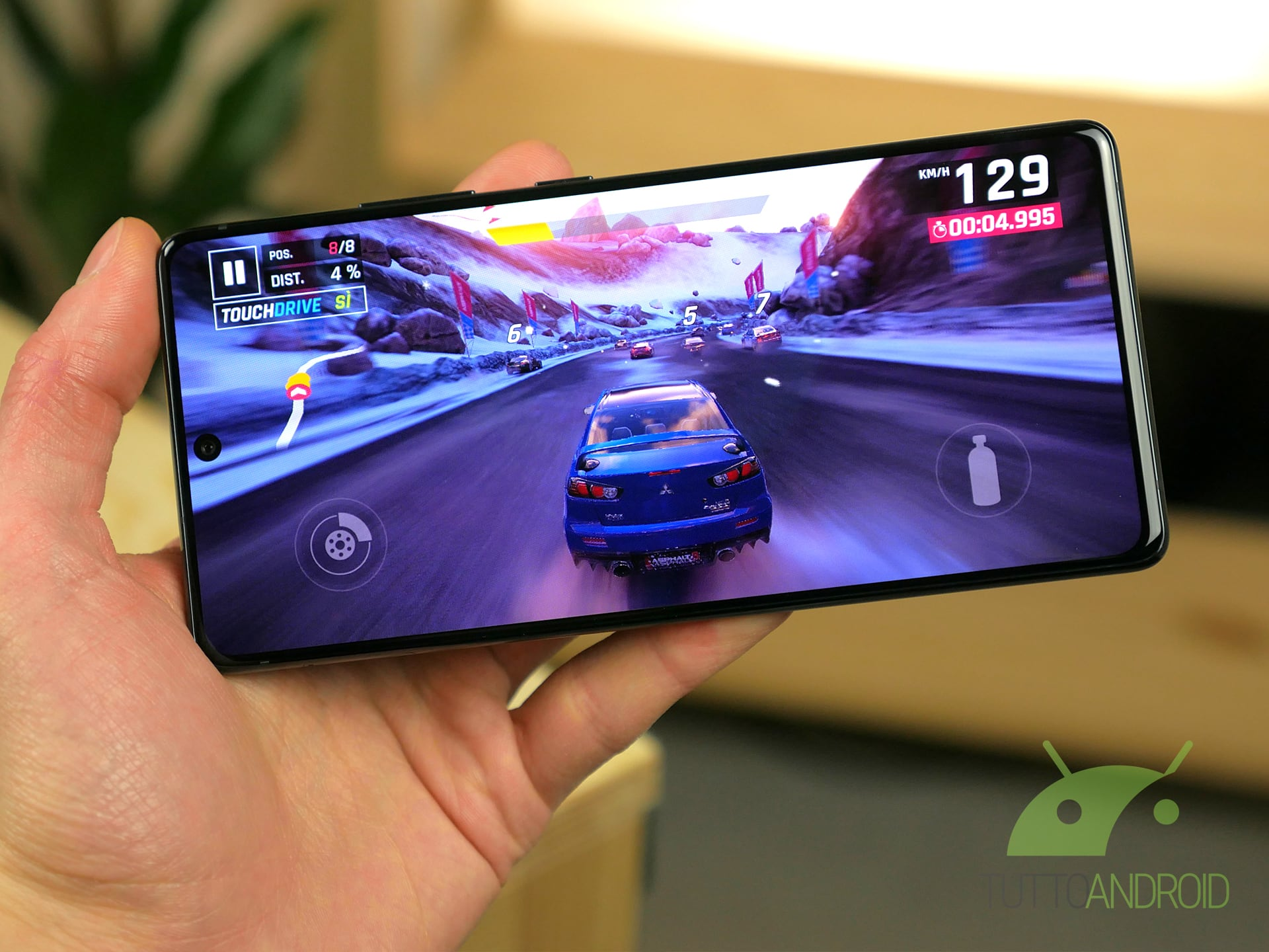 Samsung Galaxy S10 Lite gameplay