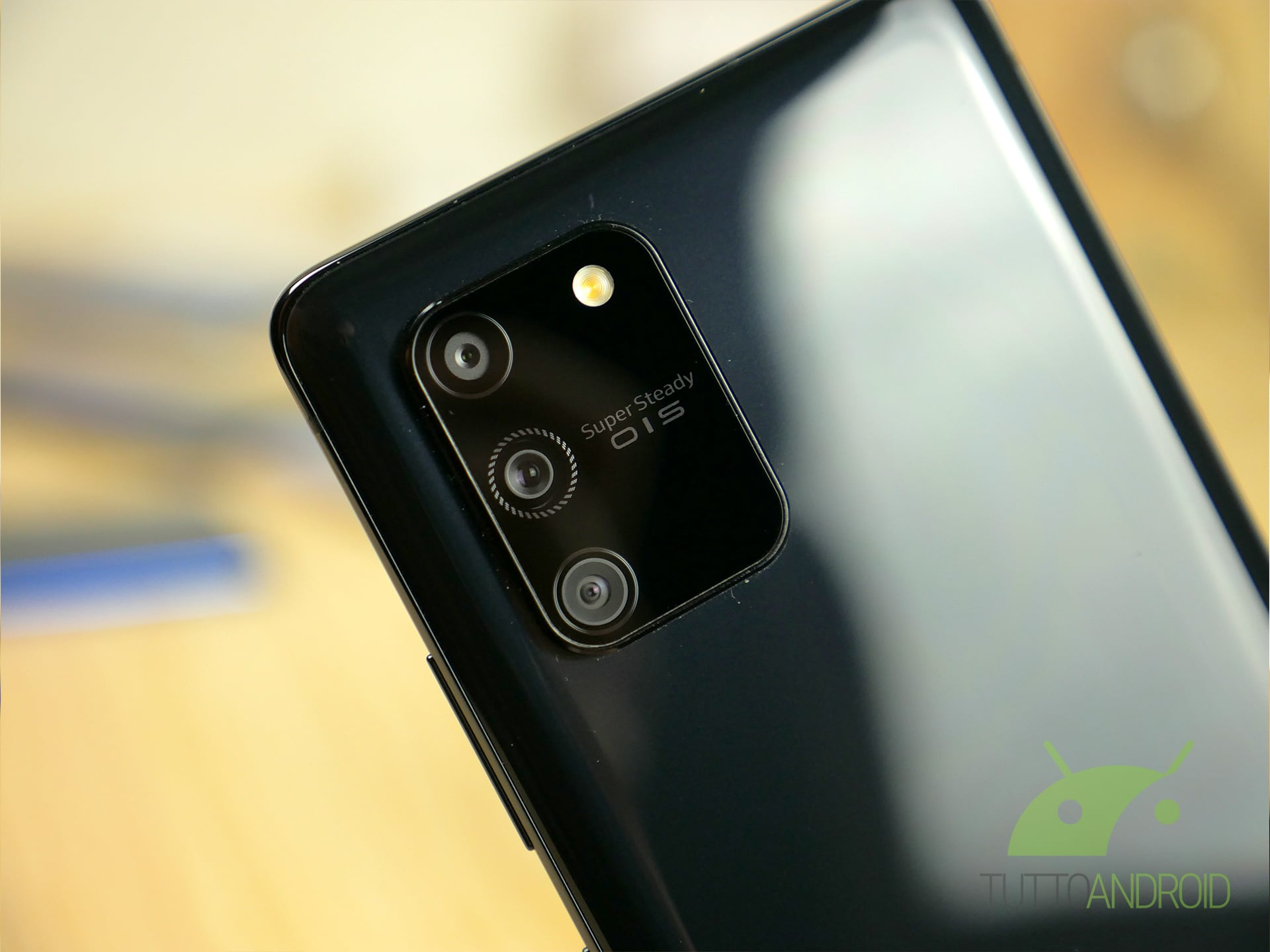 Samsung Galaxy S10 Lite fotocamera