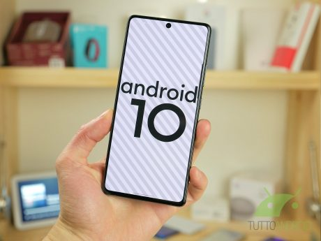 Samsung Galaxy S10 Lite Android 10