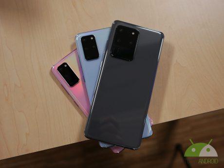 Samsung Galaxy S20, Samsung Galaxy S20+ e Samsung Galaxy S20 Ultra 5G
