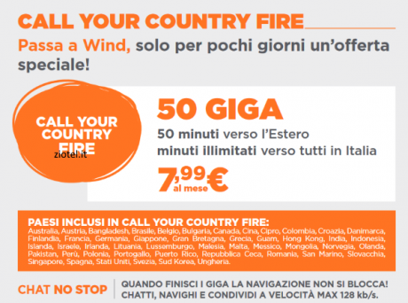 Wind Call Your Country Fire