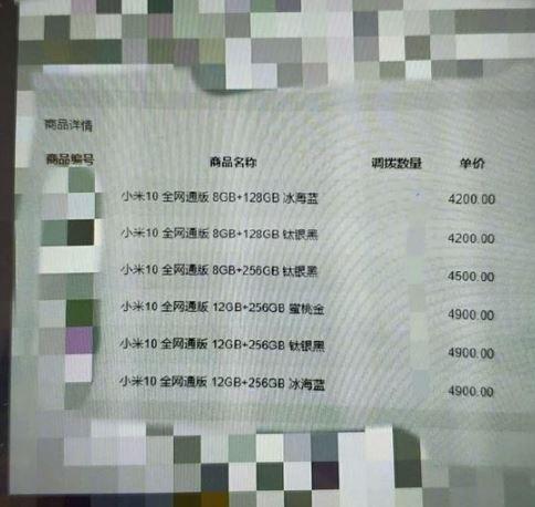 xiaomi mi 10 pro poster prezzi design