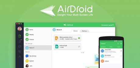 AirDroid nearby