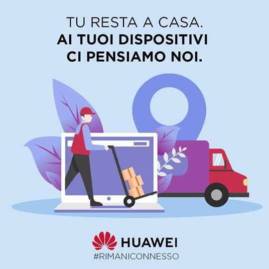 estensione garanzie Huawei coronavirus