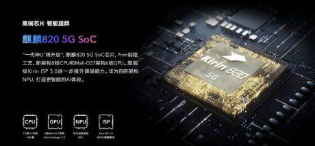 HiSilicon Kirin 820 5G