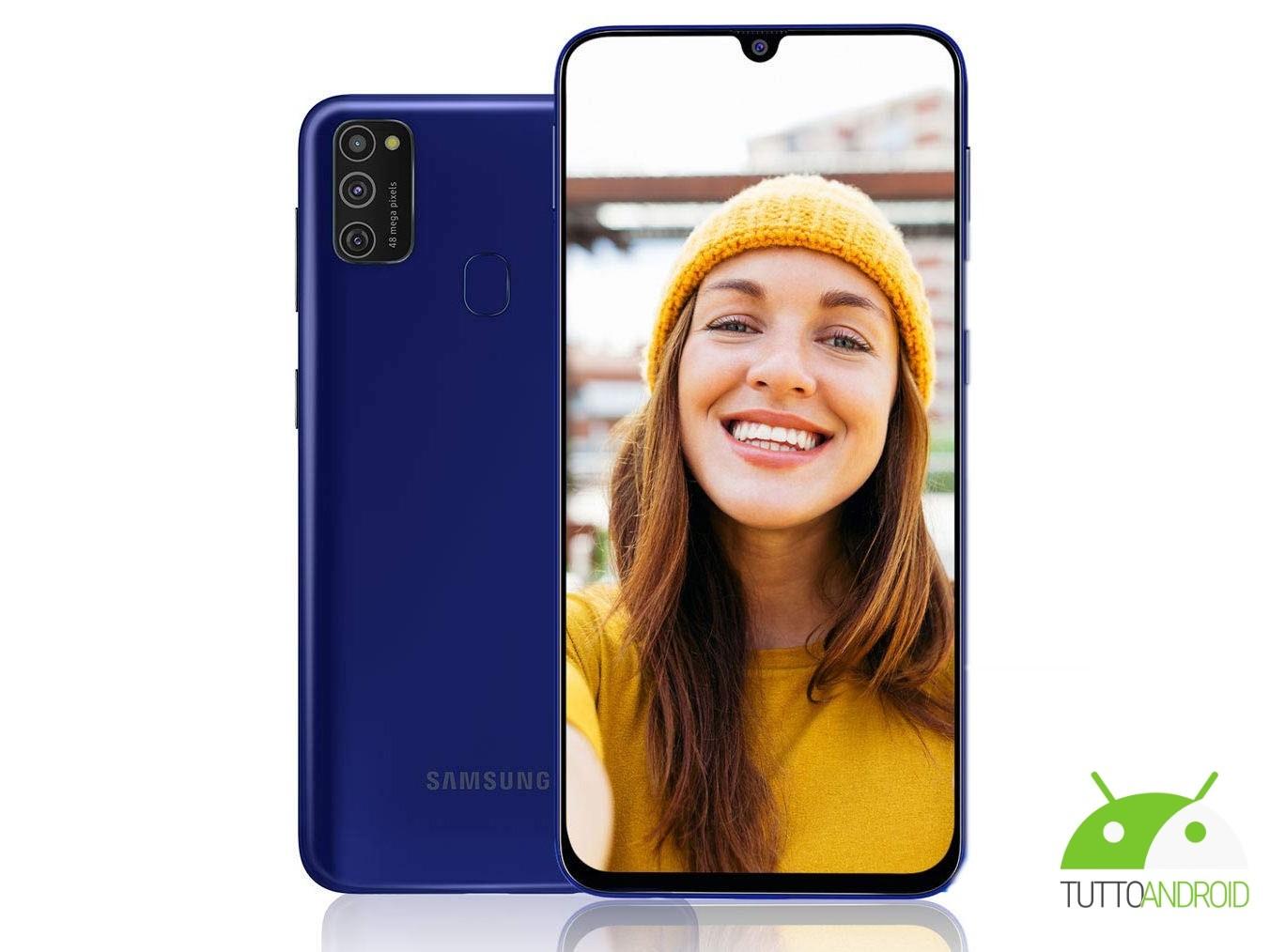 Samsung Galaxy M21 arriverà in Europa con una grande autonom