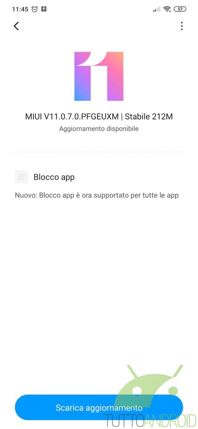 Redmi Note 7 MIUI 11.0.7