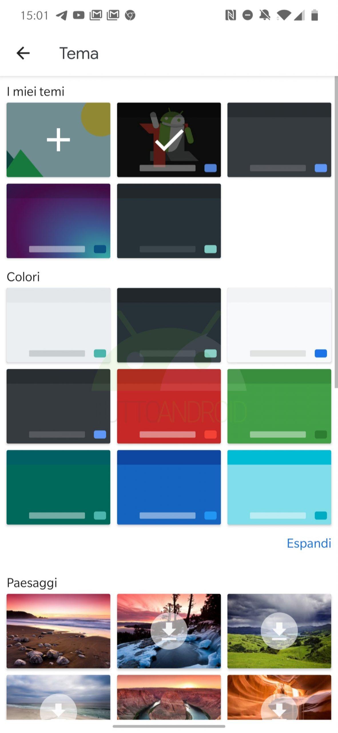 Gboard Tastiera di Google personalizzazione temi