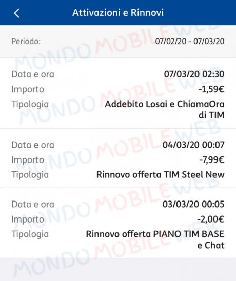 TIM Carta Free problemi steel new