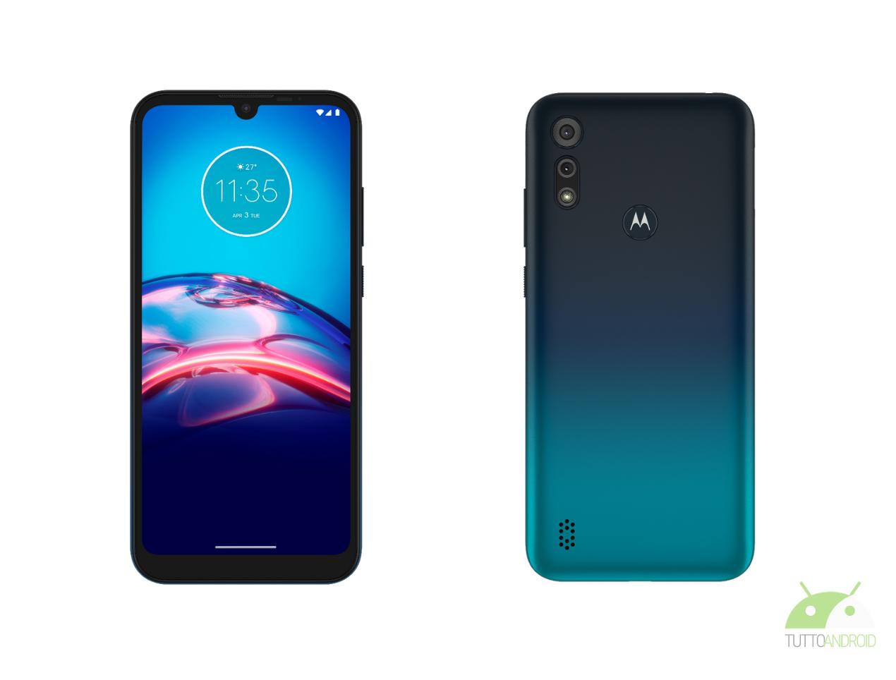 Motorola Moto e6s copertina