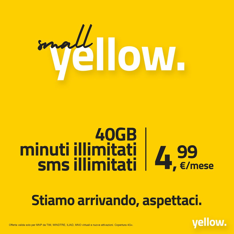 Yellow. Mobile