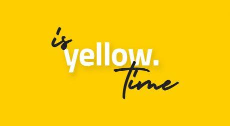 Yellow. Mobile