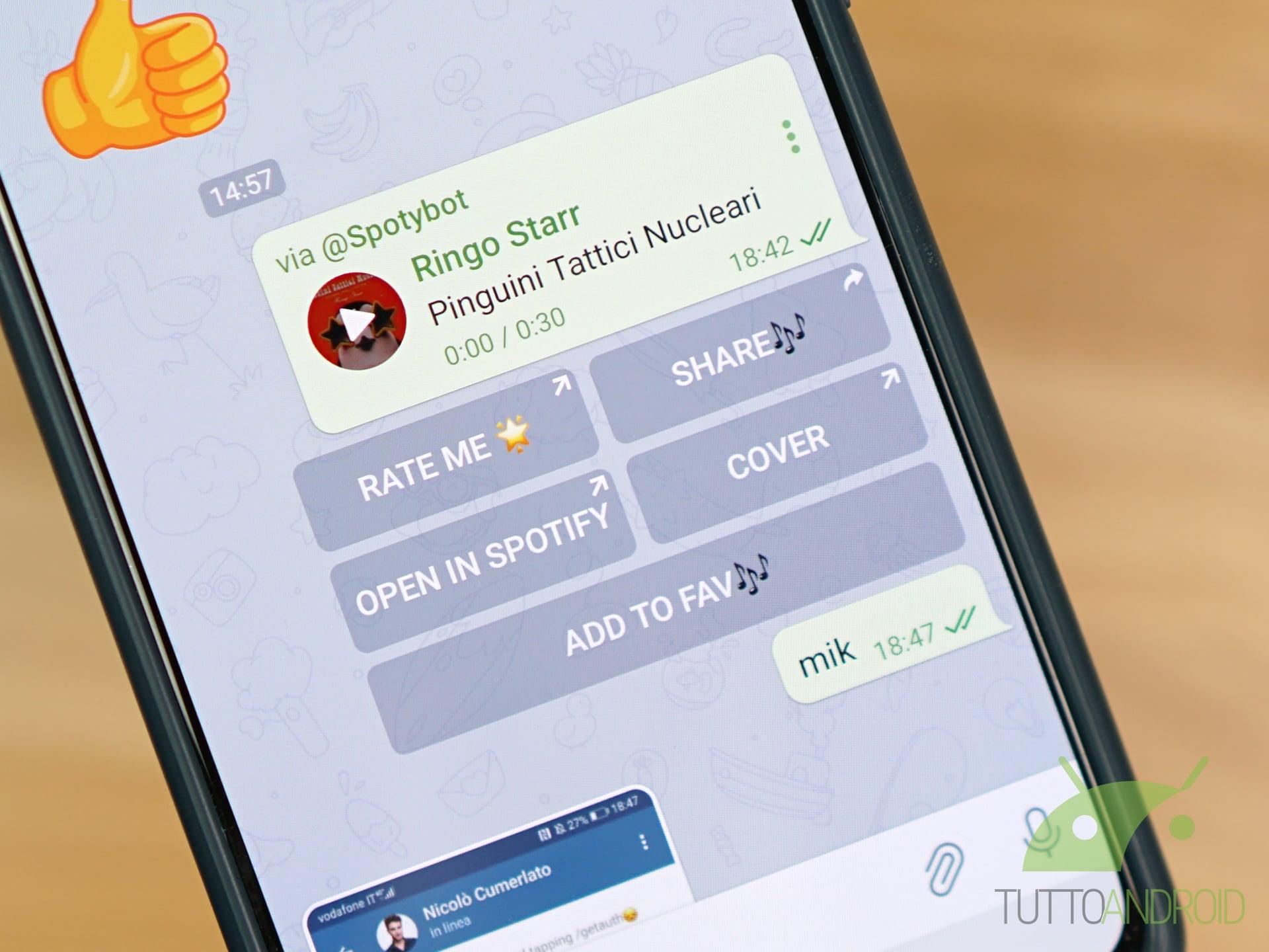 Bot Telegram Spotybot