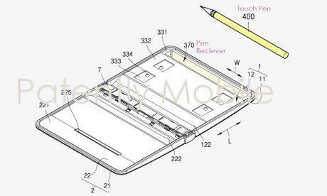 brevetto Samsung Galaxy Note pieghevole