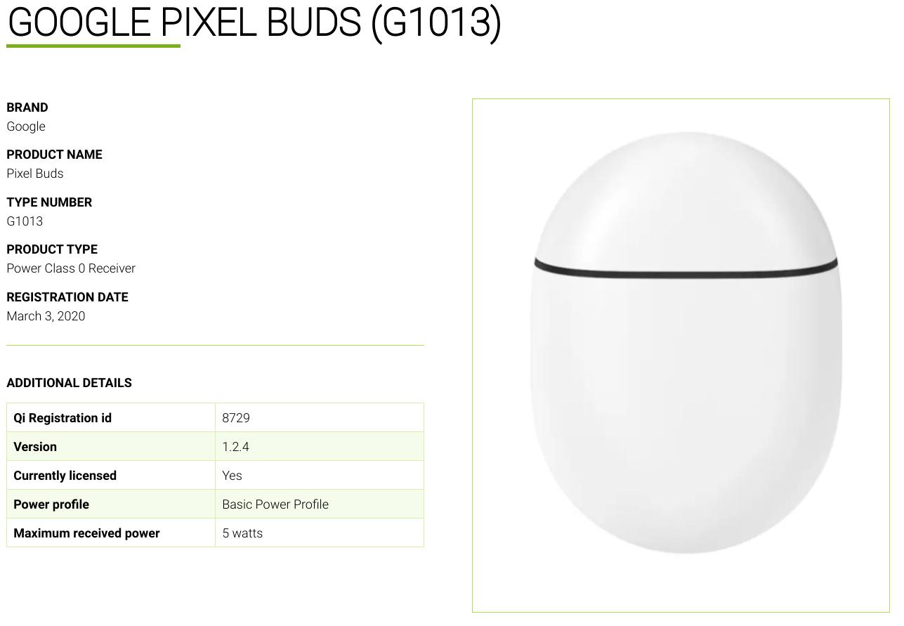 certificazione google pixel buds 2