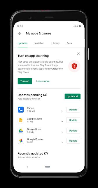 google play protect informazioni 2019