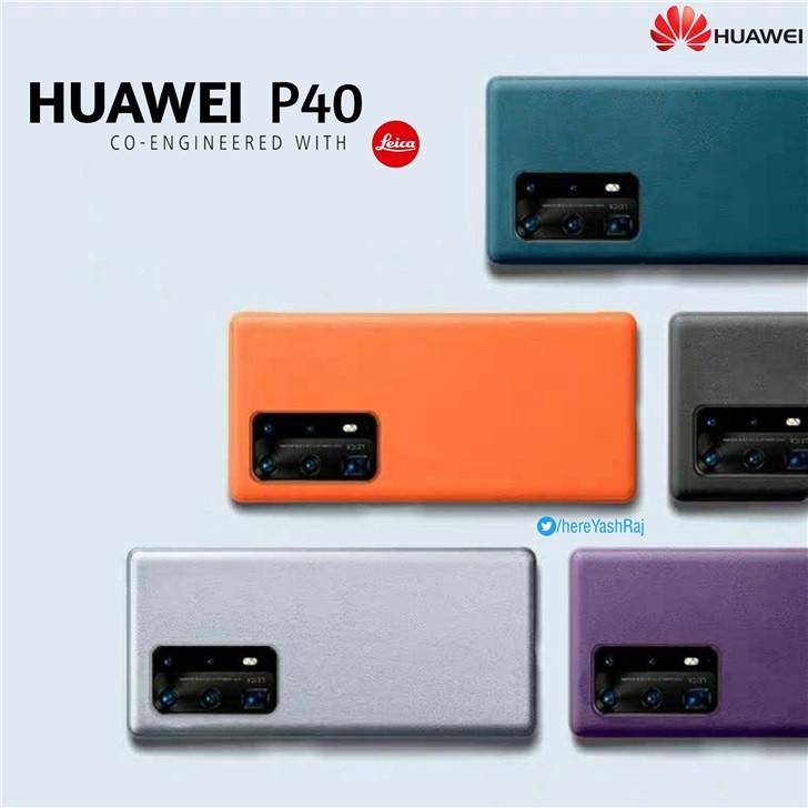huawei P40 colori