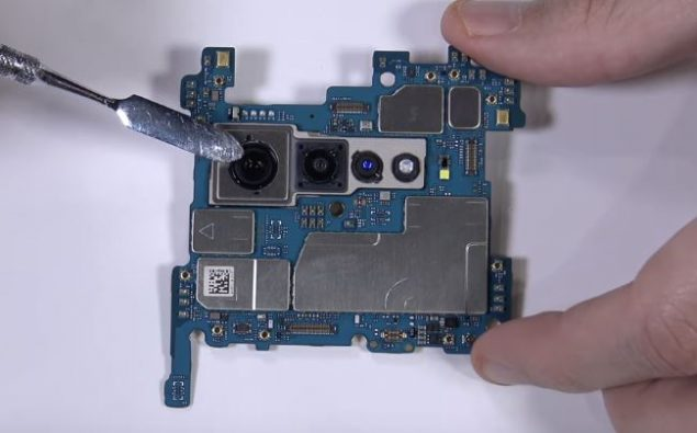 lg v60 thinq 5g video teardown
