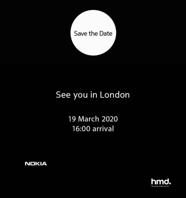 nokia evento 19 marzo 2020 londra