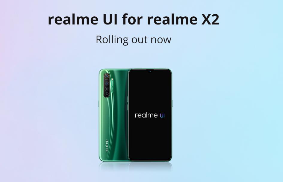 Realme X2 si aggiorna con Realme UI, Android 10 e tante novi