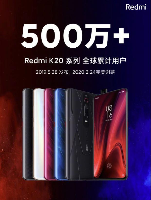 redmi k20 pro 5 milioni vendite