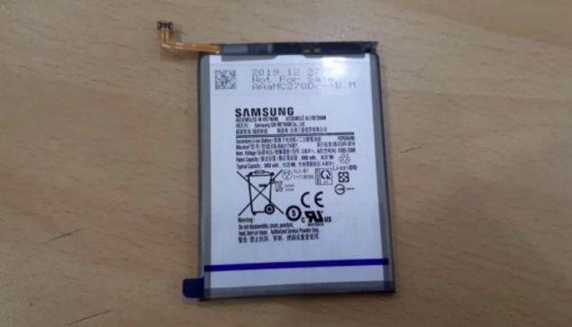 samsung galaxy a21s batteria foto leak buds+ nuove colorazioni