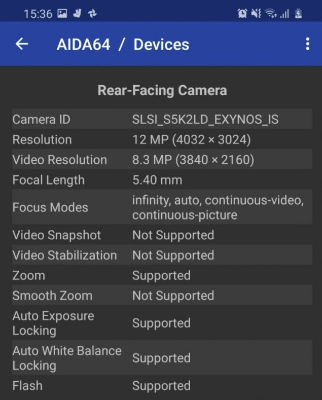 samsung galaxy s20 plus exynos 990 sensore fotocamera