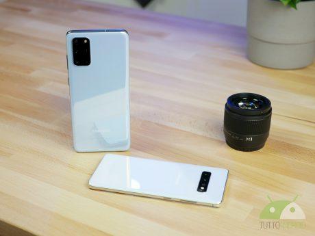 Samsung galaxy s10 plus galaxy s20 plus