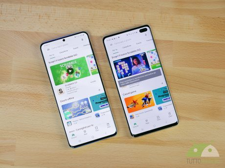 Samsung Galaxy S20+ e Samsung Galaxy S10+