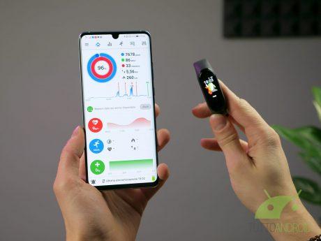 Xiaomi Mi Band 4 personalizzazione