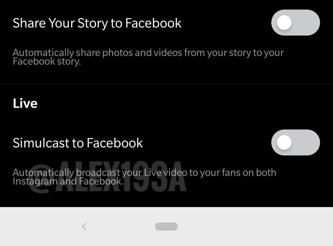 instagram facebook live simulcast