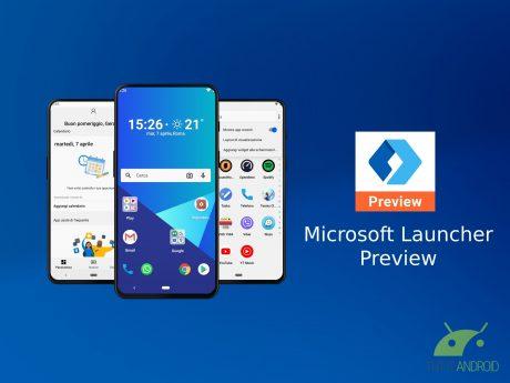 Microsoft Launcher Prev