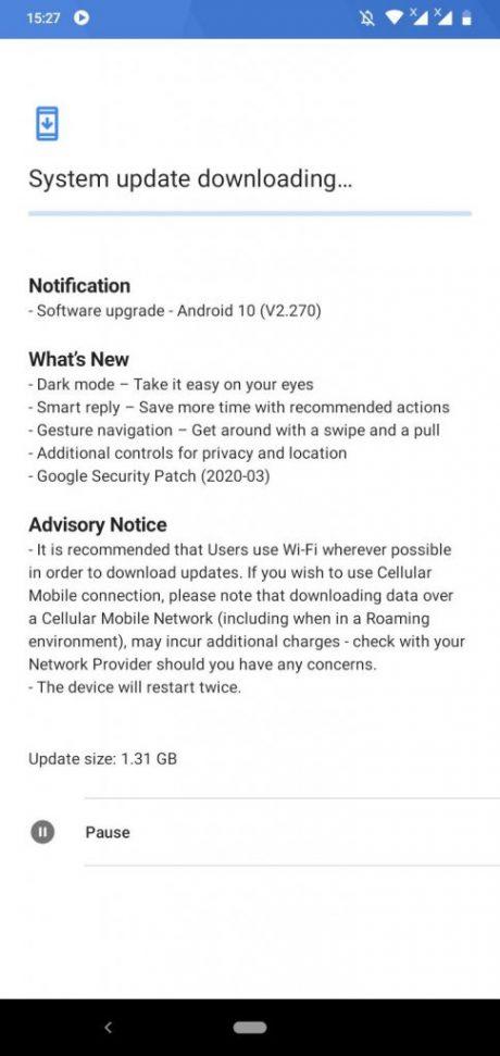 nokia 3.2 android 10