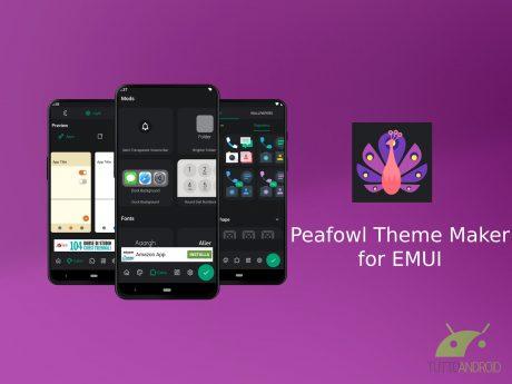 Peafowl Theme Maker