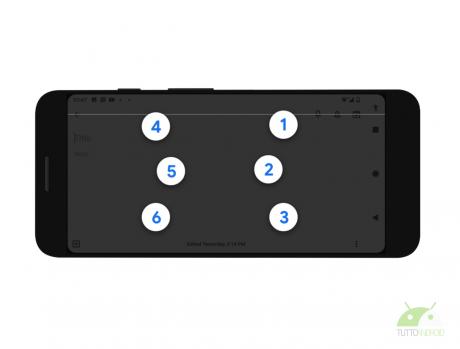 tastiera Braille virtuale Android