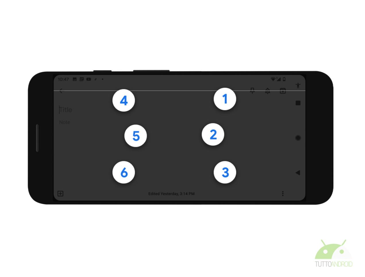 Google presenta la tastiera Braille virtuale di Android: ecc