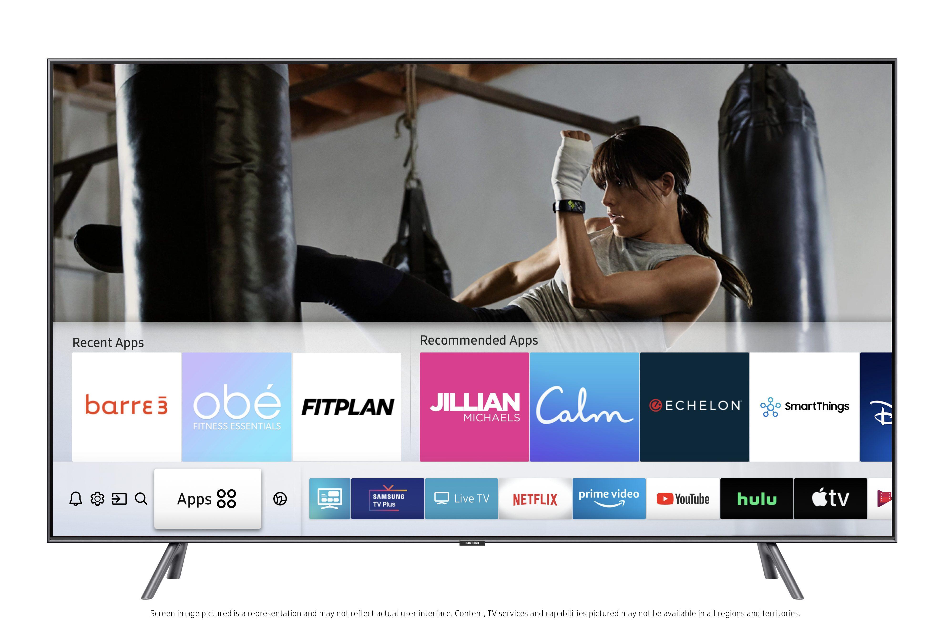 smart tv samsung app