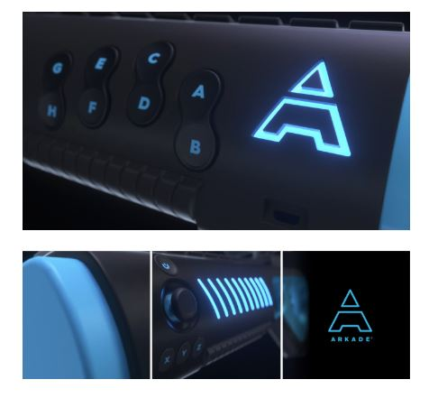 arkade blaster smartphone controller indiegogo