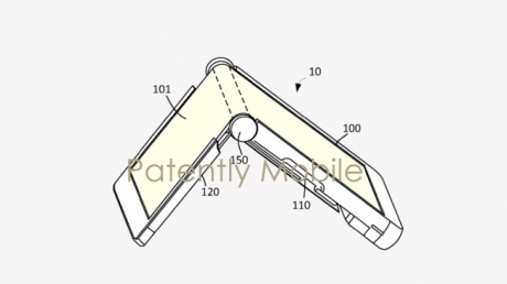 Google pixel pieghevole brevetto