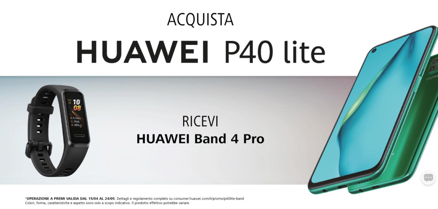 huawei p40 lite promozione