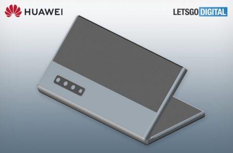 huawei smartphone display flessibile fotocamera zoom brevetto