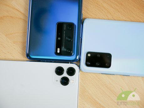 Iphone 11 pro huawei p40 pro galaxy s20 plus