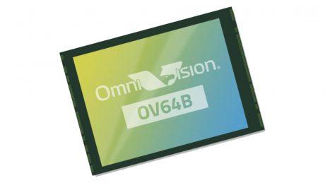 Omnivision ov64b sensore fotocamera 64 mp feat