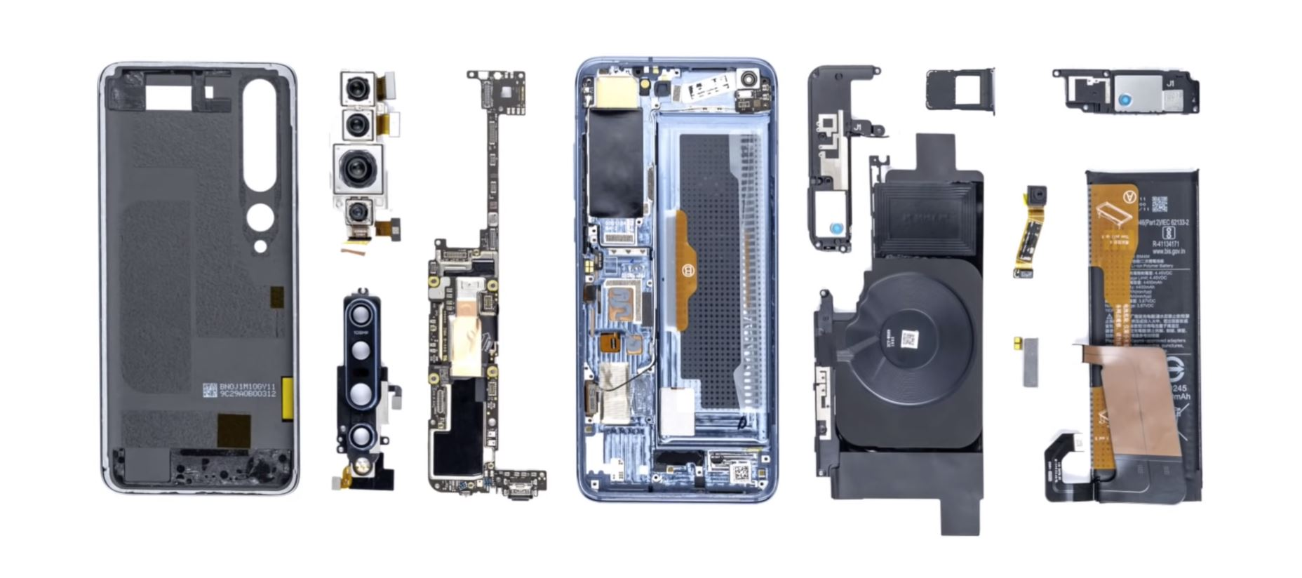 Xiaomi Mi 10 Pro senza segreti in questo video teardown