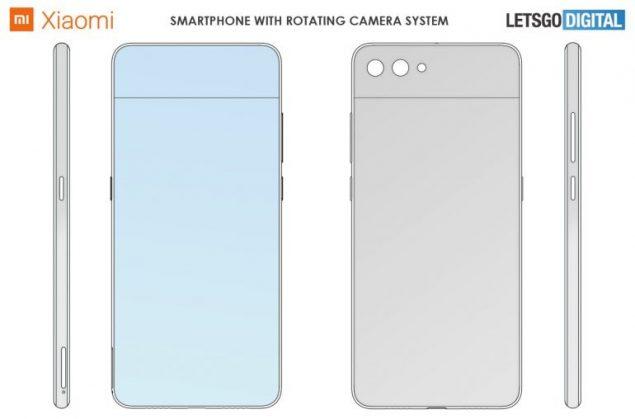xiaomi samsung smartphone tablet fotocamera ruotante stand brevetto