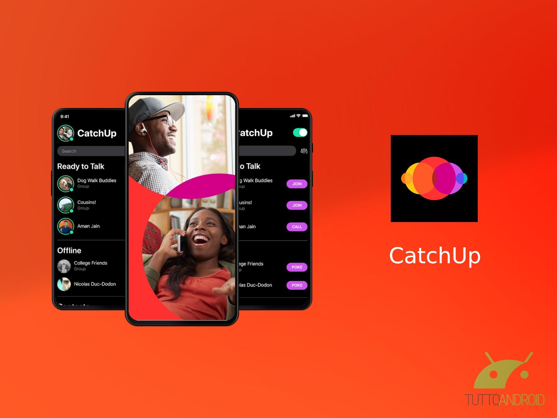 Facebook sperimenta l'app CatchUp per migliorare le chiamate