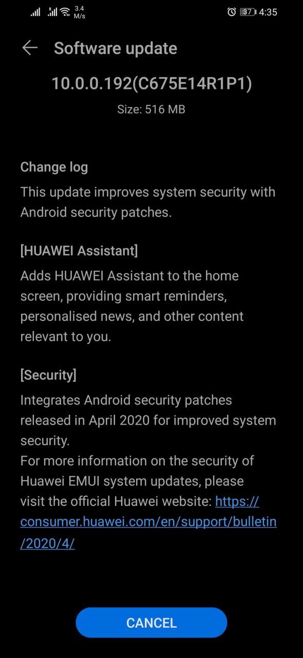 honor 8x aggiornamento huawei assistant